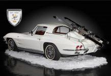 Hertz 1963 Corvette Ski Car Offered at Barrett-Jackson
