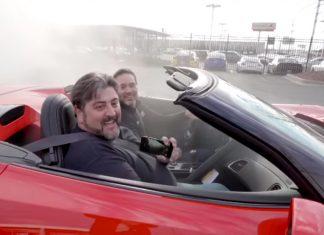 [VIDEO] Winner of Jimmie Johnson's 2019 Corvette Z06 Gets Ride of His Life