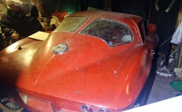 1963 Corvette Split Window Stored Away for 56 Years is Now for Sale