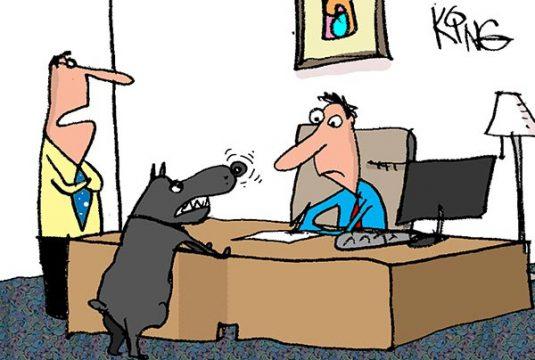 Saturday Morning Corvette Comic: Who's a Good Dog!