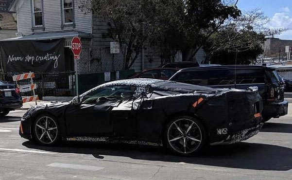 [SPIED] California Dreaming as Two C8 Mid-Engine Corvette Prototypes are Spotted in San Diego - Corvette: Sales, News & Lifestyle
