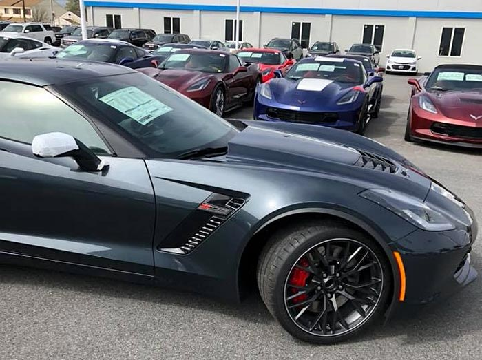 Inventory of New Corvettes Grows to a 232-Day Supply with 9,000 Available