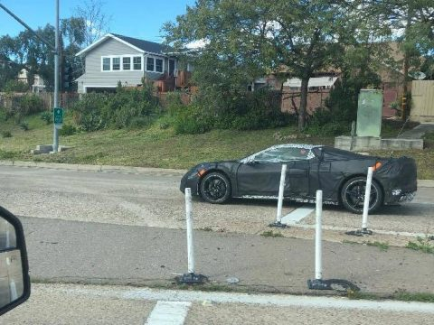 [SPIED] Another Sighting of a C8 Mid-Engine Corvette Prototype in San Diego