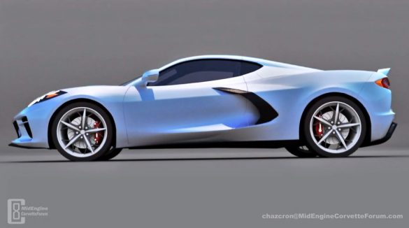 [VIDEO] Chazcron's 360-degree All American C8 Corvette Renders