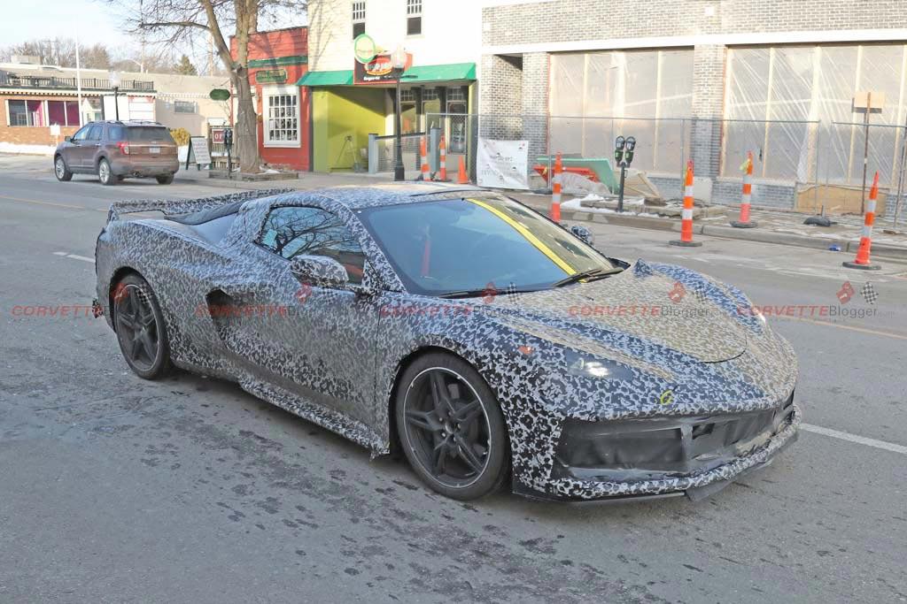 [SPIED] New C8 Corvette Interior Spy Photos Show Details ...