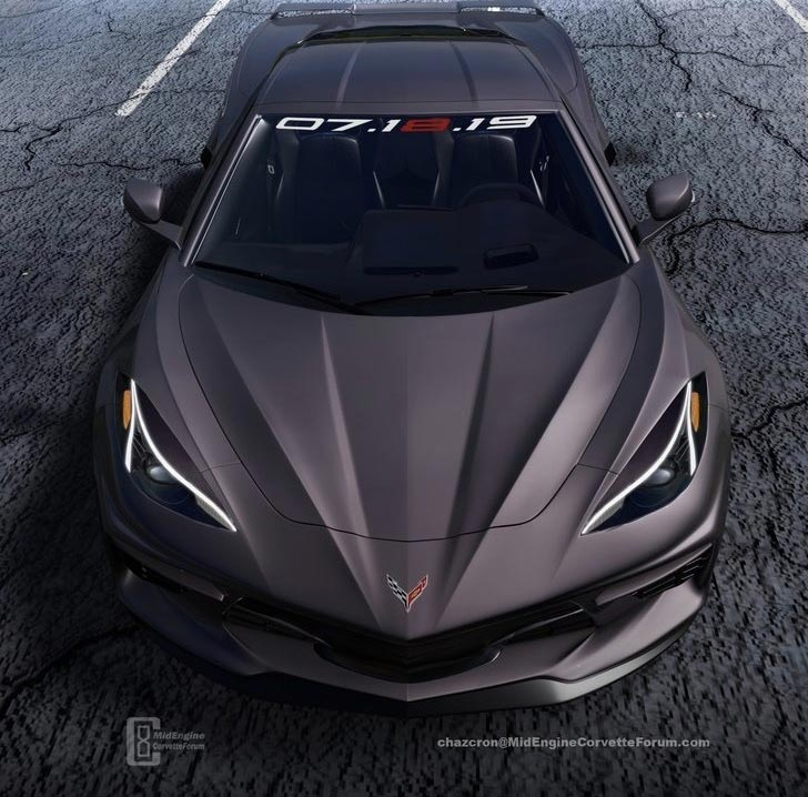 [PIC] Chazcron Updates the 2020 Corvette's Headlights ...