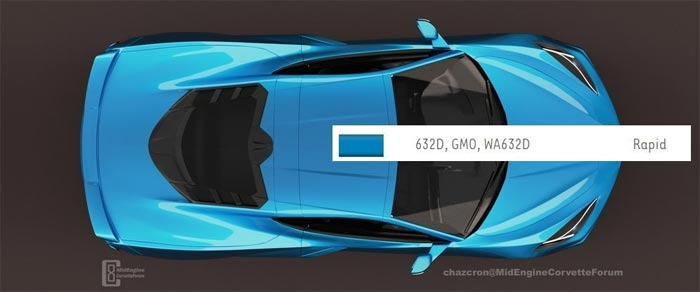Was the New Rapid Blue Exterior for the 2020 Corvette Leaked?