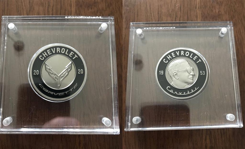 [PICS] Black Commemorative C8 Corvette Coin Received by Enthusiast - Corvette: Sales, News ...