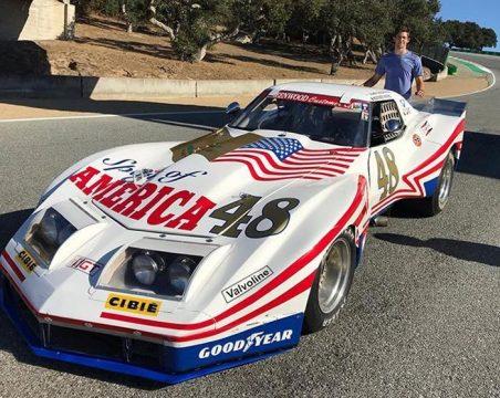 [VIDEO] Watch Jordan Taylor Drive the 1976 Greenwood Corvette at the Rolex Reunion at Laguna Seca
