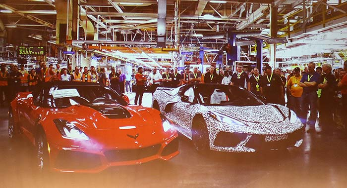 [VIDEO] Corvette Assembly Plant Update with Kai Spande from the NCM 25th Anniversary
