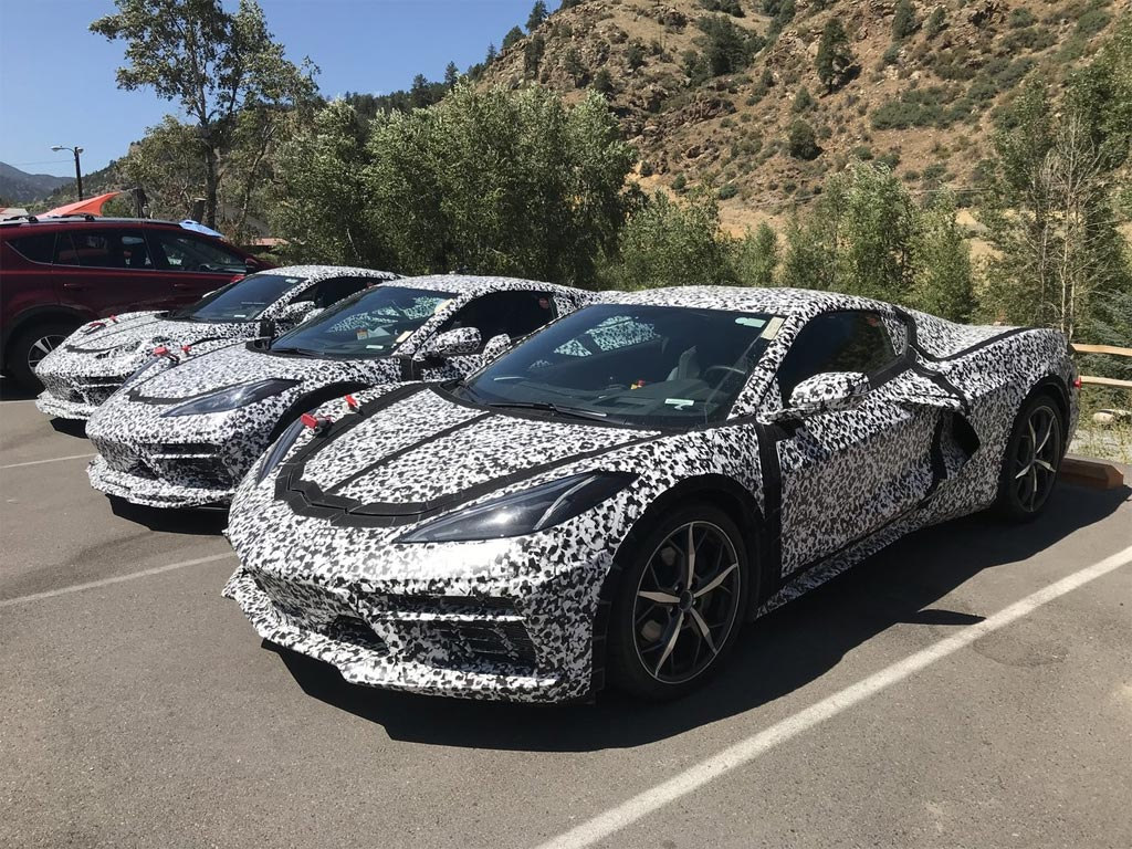 SPIED] Are These Hybrid C8 Corvette Mules Testing in