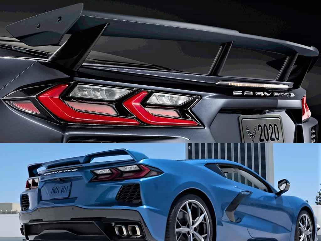 2020 Corvette with Z51 Plus High Wing Option Equals You Owning Two Spoilers