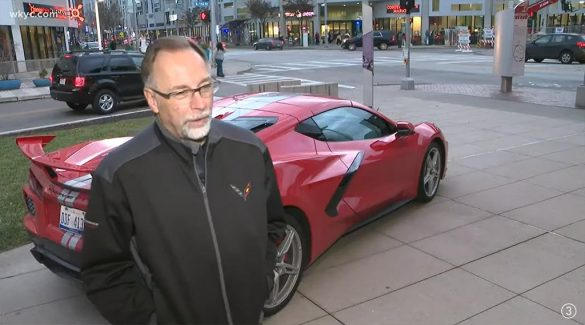 [VIDEO] Corvette Exterior Design Manager Kirk Bennion Brings a C8 Corvette to the Cleveland Institute of Art