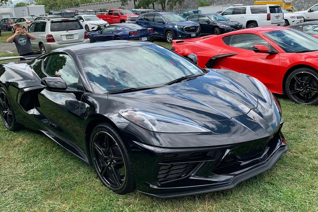 Corvettes On Ebay Black 2020 Corvette Stingray Priced At 119 999 Corvette Sales News Lifestyle