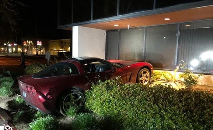 [ACCIDENT] C6 Corvette Meets Building in Simi Valley, California