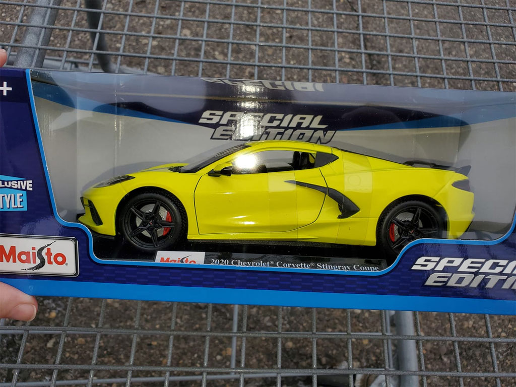C8 Corvette Models Showing Up In Stores And On Ebay Corvette Sales News Lifestyle