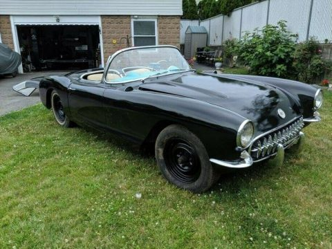 Corvettes on eBay: Highly Optioned 1956 Corvette with 225-HP Dual Quad V8