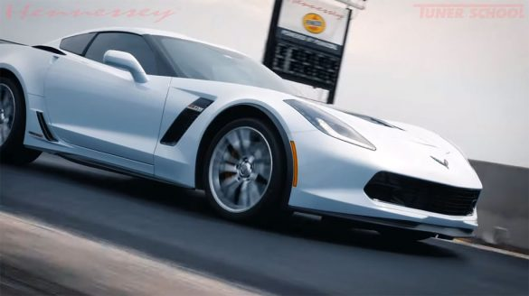 [VIDEO] Hennessey Unleashes a C7 HPE850 Corvette Z06 on their Test Track