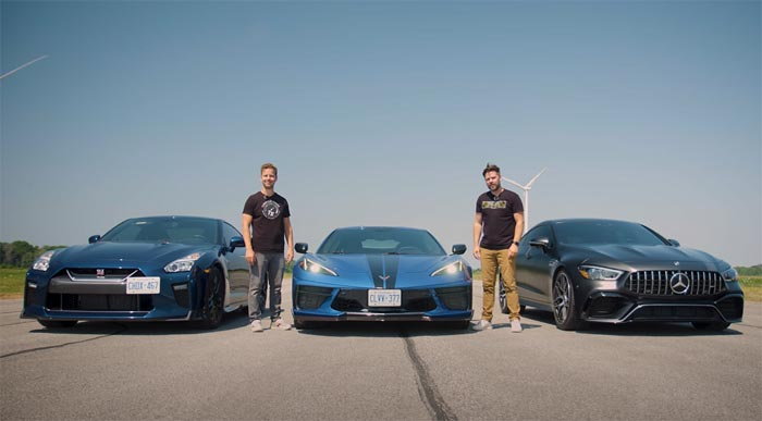 [VIDEO] 2020 Corvette Battles the Nissan GT-R And Mercedes-AMG GT 63 S on Throttle House