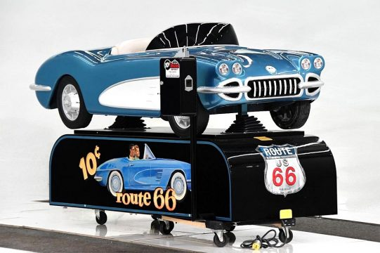 [VIDEO] Vintage Corvette Kiddie Ride For Sale Is One Of Six Produced