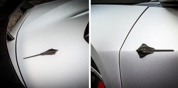 Nowicki Autosport Releases New Concept8 C8 Carbon Fiber Door and Hatch Badges