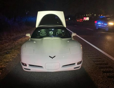 Nashville Police Impound a Corvette and Four Other Vehicles for Street Racing