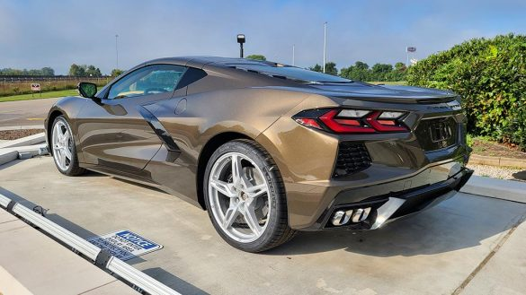 Here are the Internal GM Names of the New Exterior Colors for the 2022 Corvette