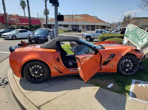 [ACCIDENT] Driver of a 2019 Corvette Grand Sport Charged In DUI Crash