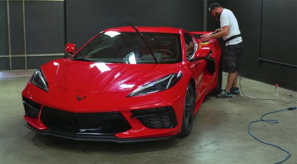 [VIDEO] Speed Phenom Takes His 2020 Corvette to the Detailer for a Refresh