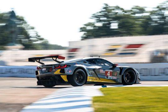Corvette Racing at Detroit: Tandy Takes Pole in C8.R Showdown