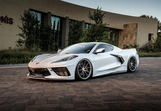 [VIDEO] Bagged 2021 Corvette Running on Ferrada CM2 Wheels